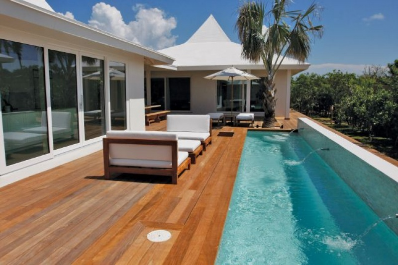 Terrasse - Lodge - Cove Eleuthera Hôtel - Bahamas