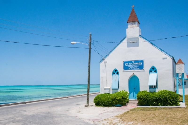 Une église - Eleuthera - Bahamas
