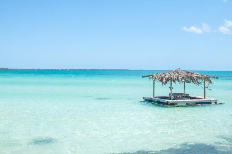 Bleu translucide - océan - Eleuthéra - Bahamas