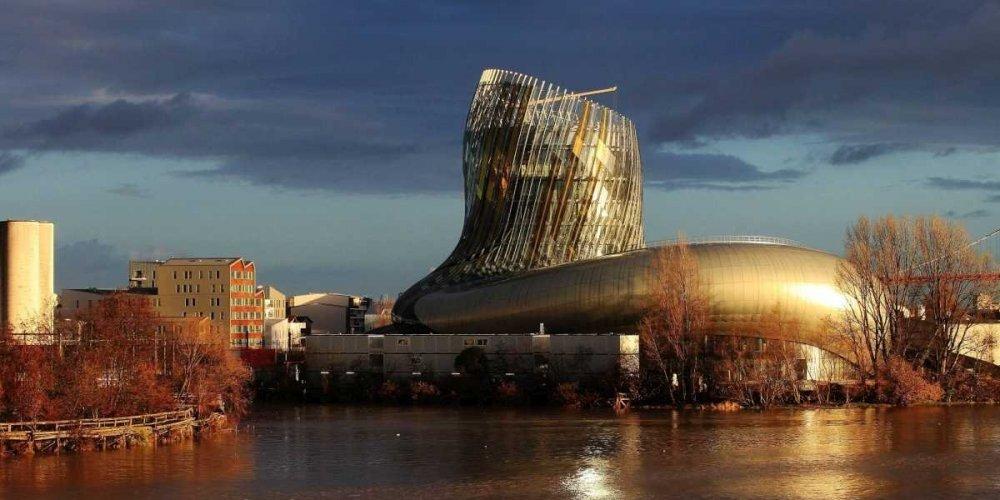 Vue - cité du vin - Bordeaux