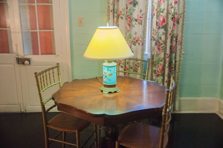 Table - maison coloniale - Nassau - Voyage Bahamas