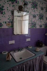 Salle de bain - maison coloniale - Nassau - Bahamas