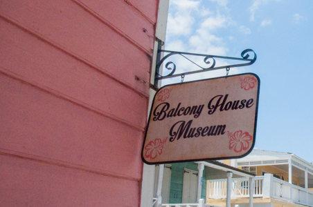 Balcony House Museum - maison coloniale -Nassau- Bahamas