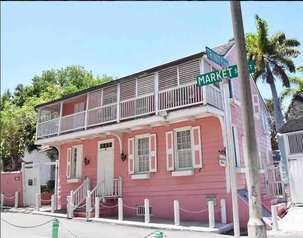 maison coloniale traditionnelle- vestige histoire - Nassau - Bahamas