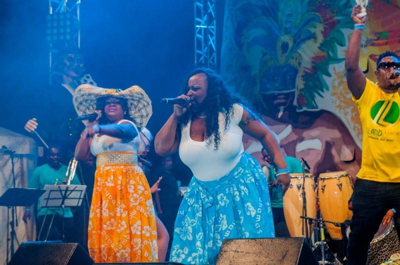 Grande scène- Junkanoo Carnaval - Bahamas