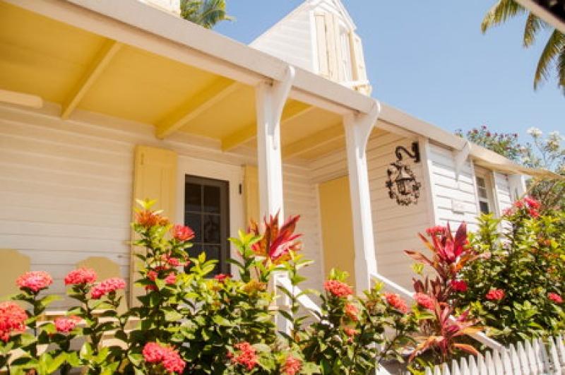 Maison jaune - Harbour Island - voyage Bahamas