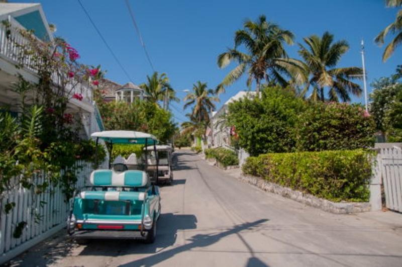 Golfette- Harbour Island - voyage Bahamas