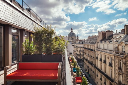 Terrasse -espace de co-working - Paris