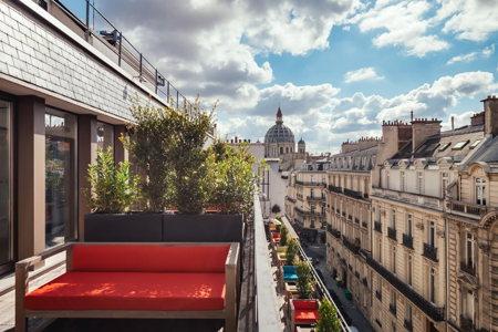 Terrasse -espace de co-working - Paris