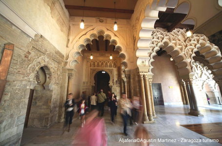 Sculptures - palais de la Aljaferia - Saragosse