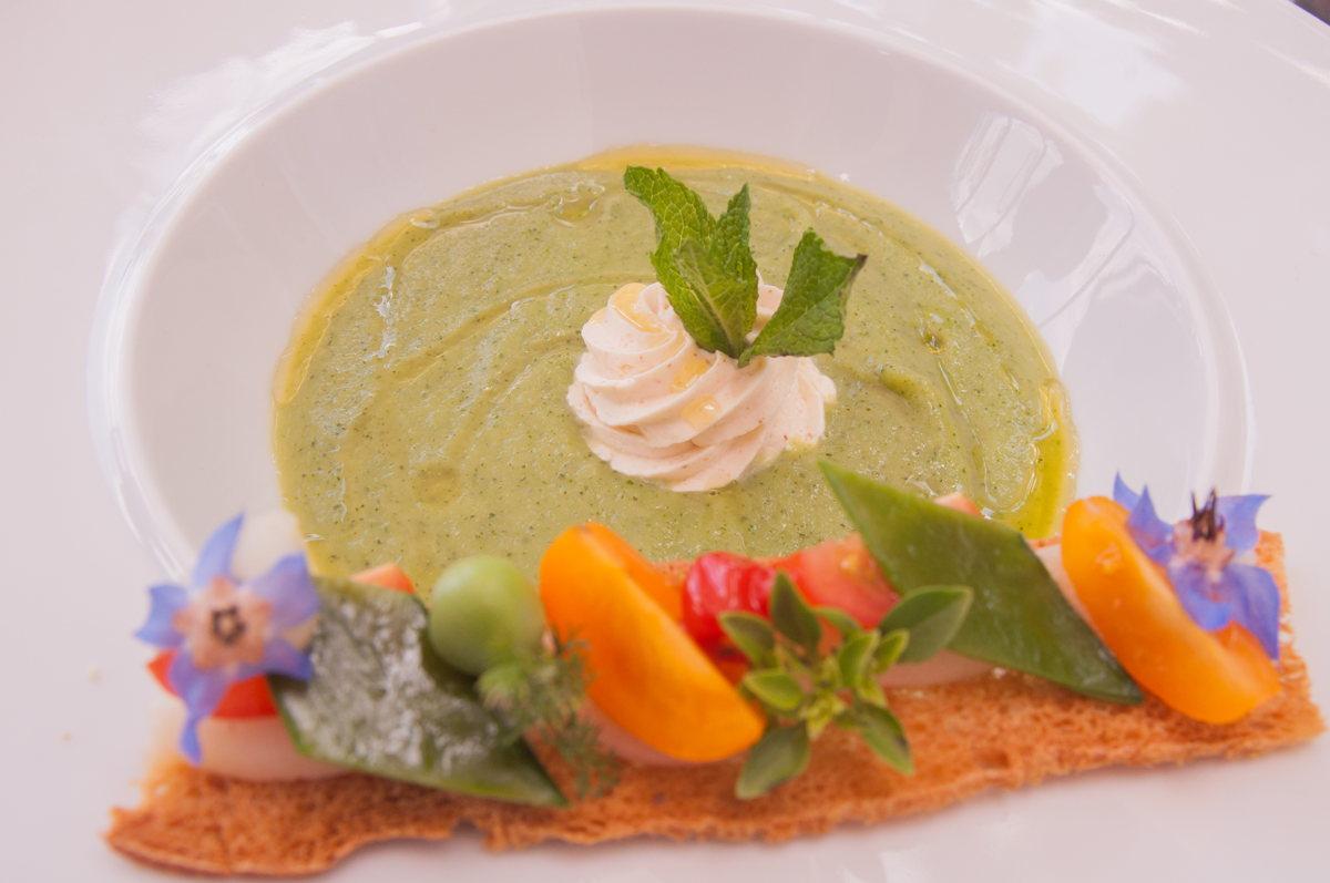 Un repas gastronomique par le Chef Michel Philibert en Vaucluse