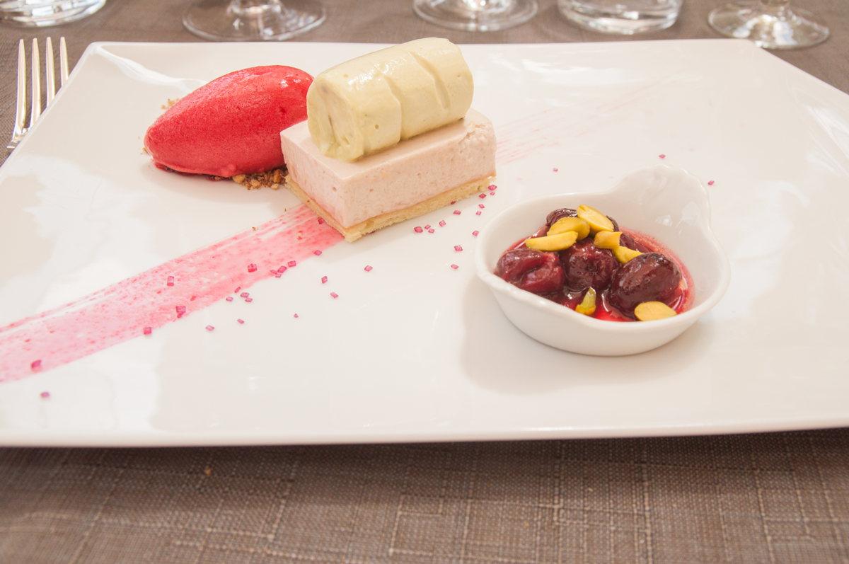Dessert succulent du Chef Michel Philibert en Vaucluse