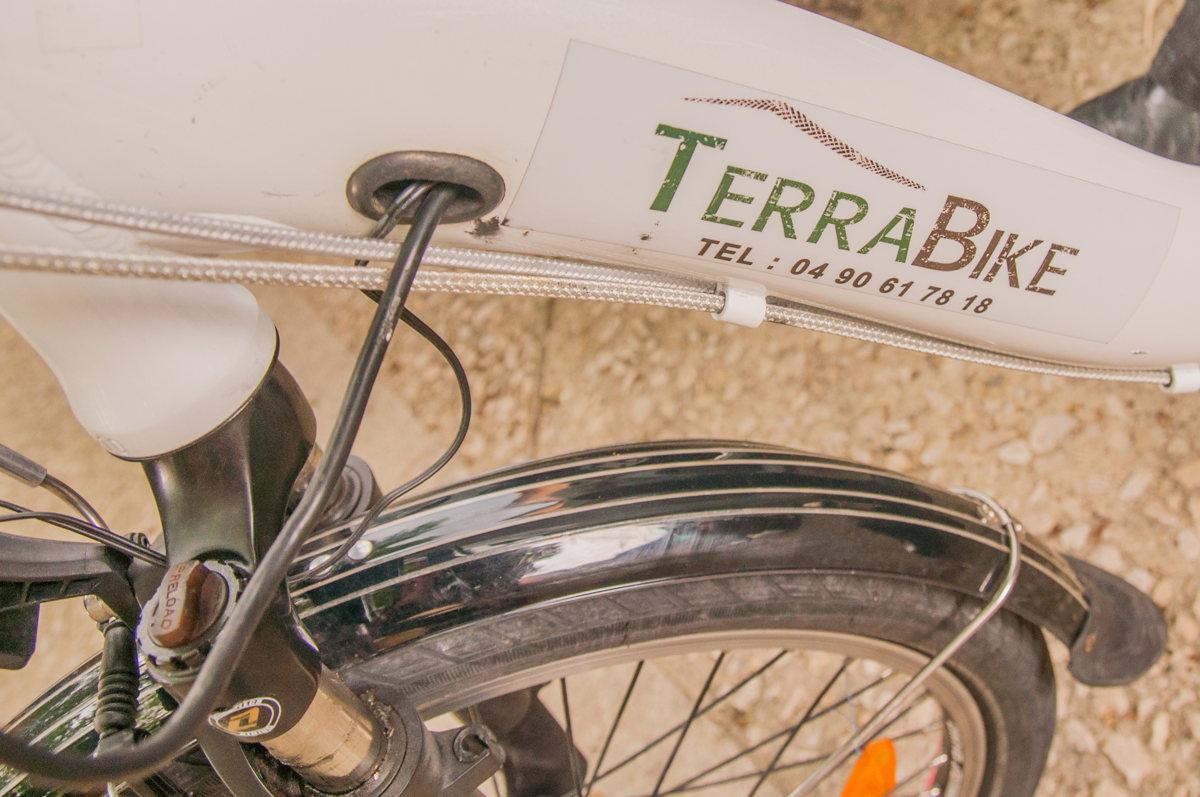 Balade en vélo TERRABIKE en Vaucluse