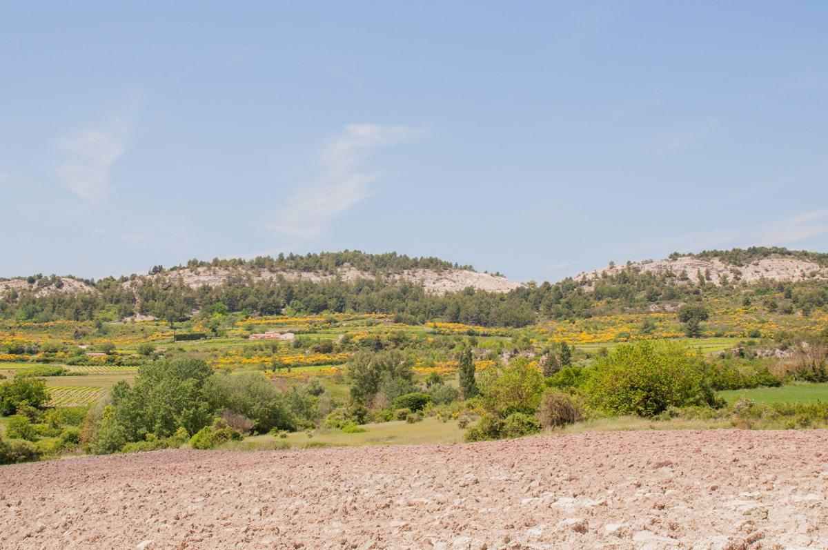 De magnifiques paysages en Vaucluse
