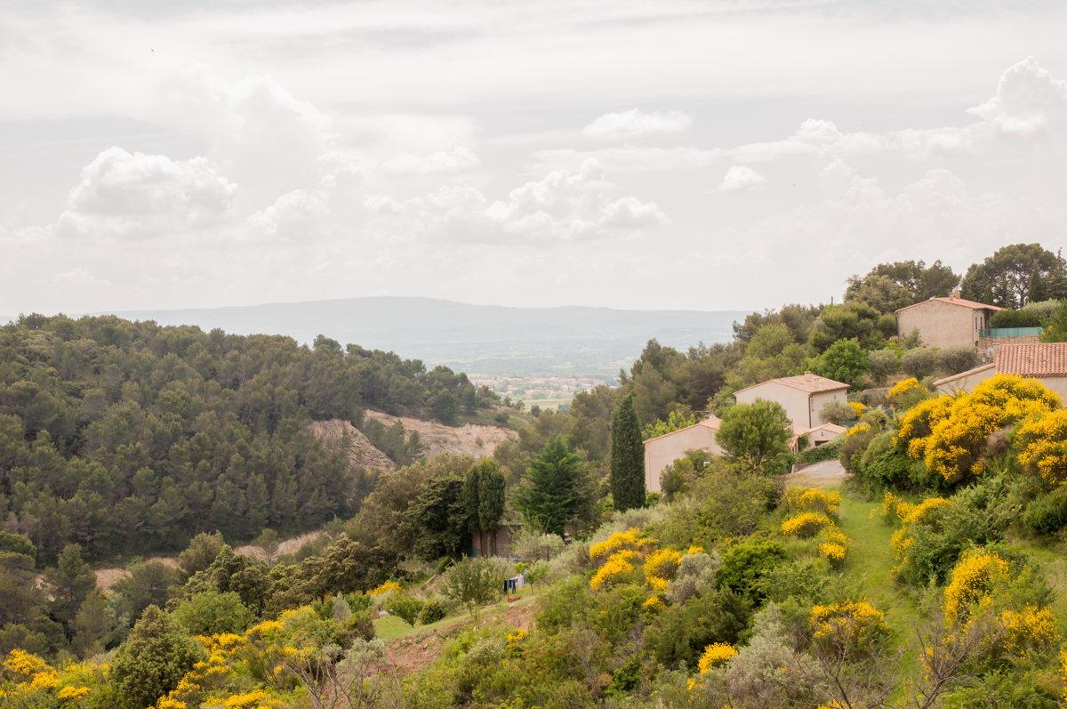 Les paysages magnifiques du Vaucluse
