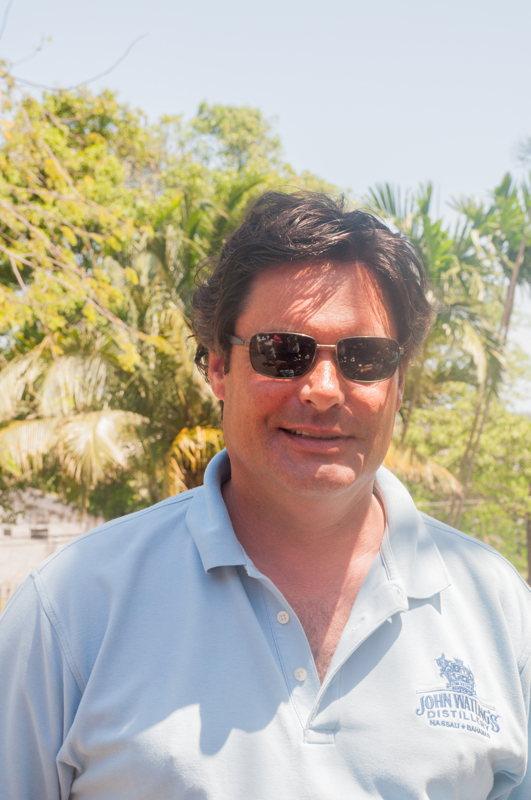 Pépin - directeur - John Watlings - voyage Bahamas