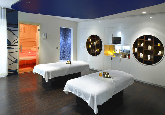 Cabine - tandem - spa du Molitor - Paris