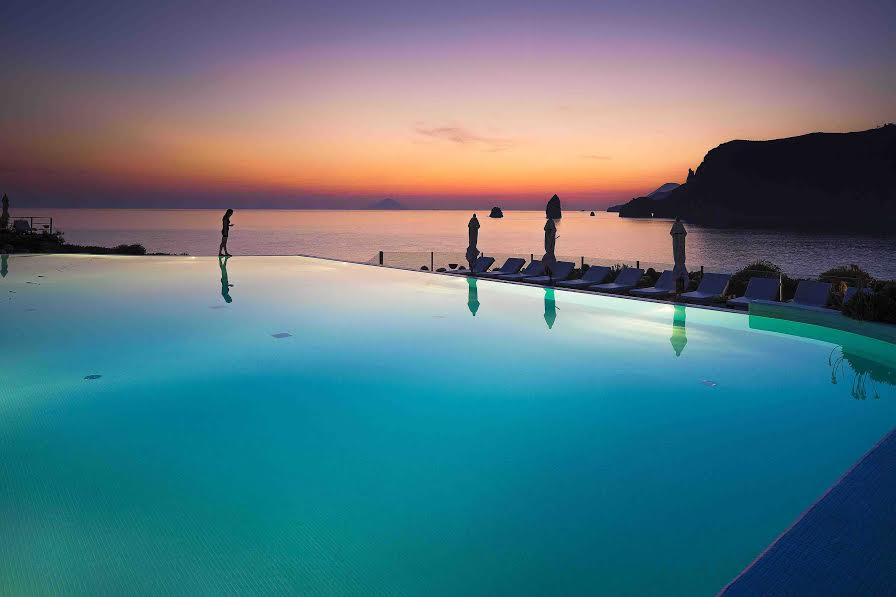 Coucher de soleil - Therasia Resort Sea & Spa