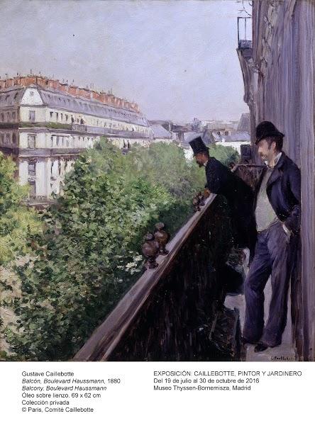 Boulevard Haussman -Paris - Caillebotte