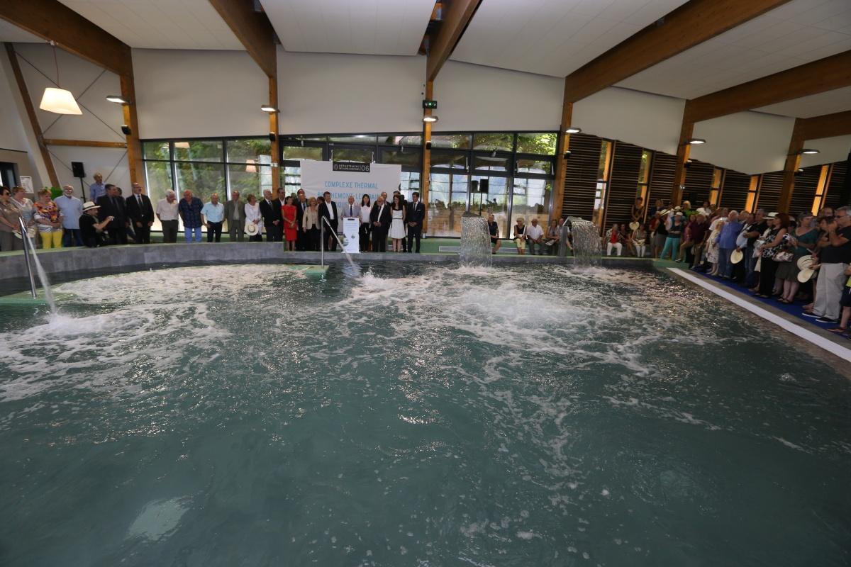 Inauguration - centre thermal-vallée de la Vésubie