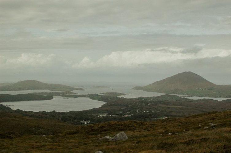 En haut du Connemara -voyage Irlande
