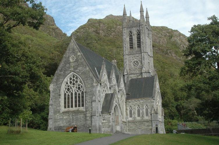 Eglise - Château de Kylemore -Connemara - Irlande