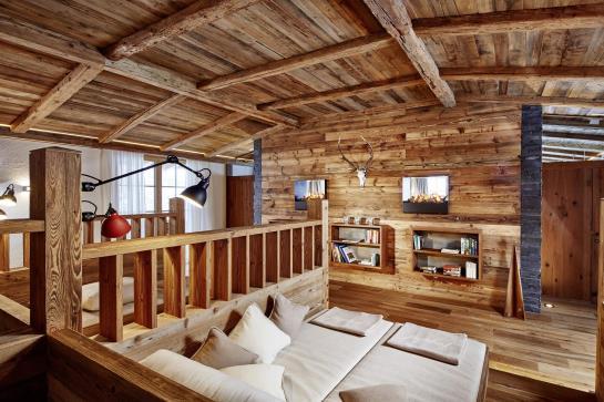 Déco en bois -Jagdhof Spa - Hôtel - Autriche