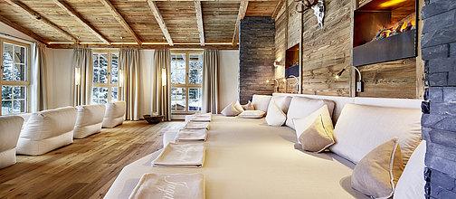 Lit pour se détendre - Jagdhof Spa - Hôtel - Autriche