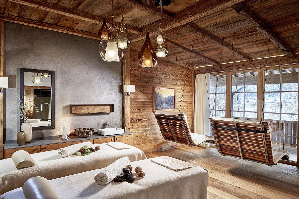 Déco sublime - Lit pour se détendre - Jagdhof Spa - Hôtel - Autriche
