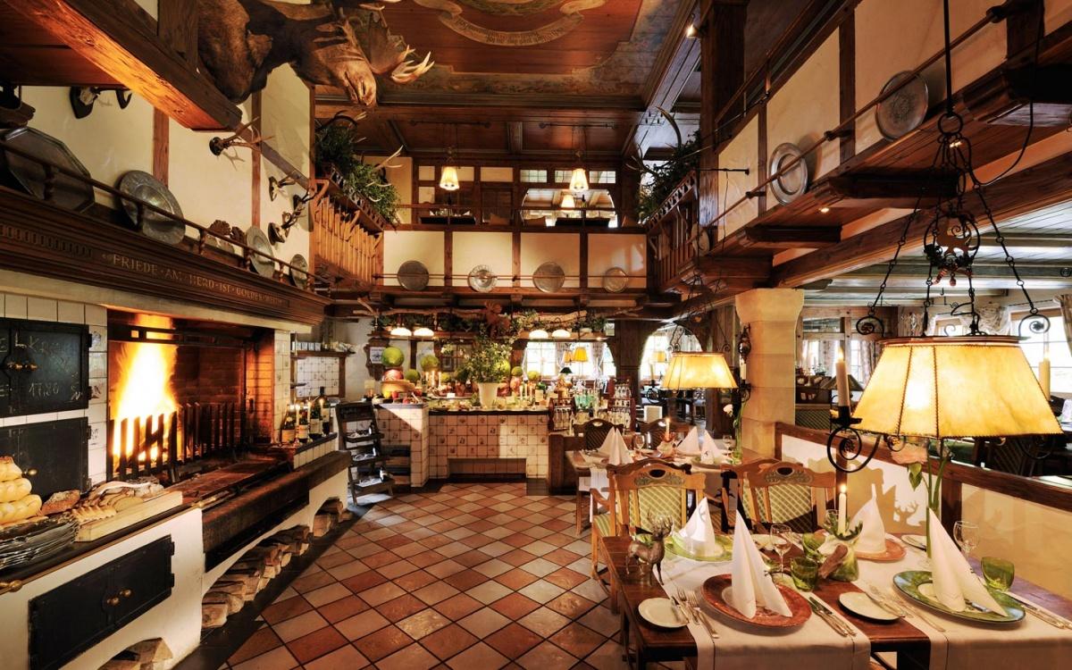 Restaurant - Jagdhof Spa - Hôtel - Autriche