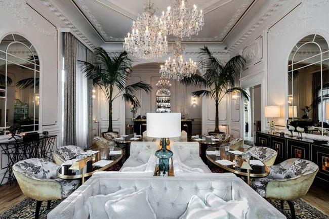 La salle du petit déjeuner - Palazzo Dama - Rome