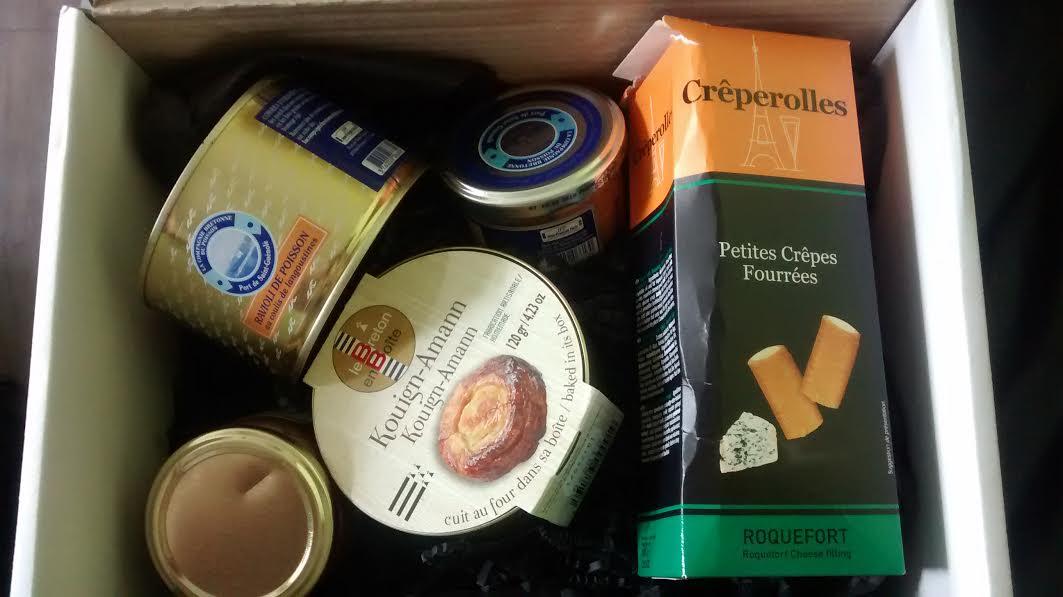 box des délices français