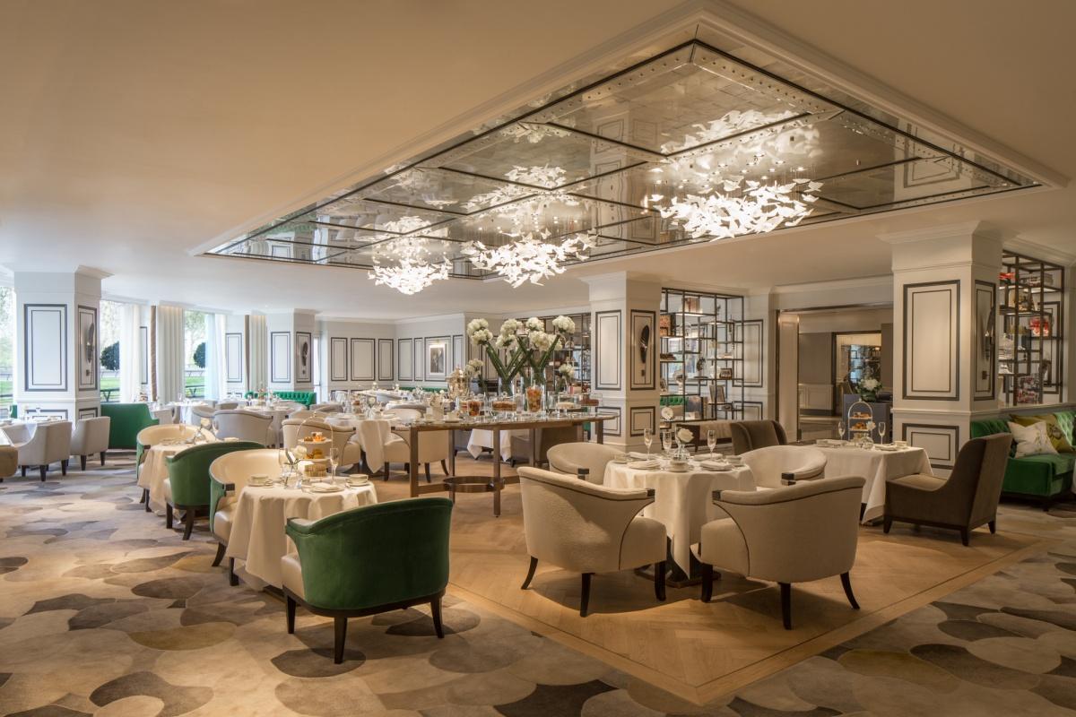 Prendre - petit déjeuner - Grosvenor Hôtel - Londres
