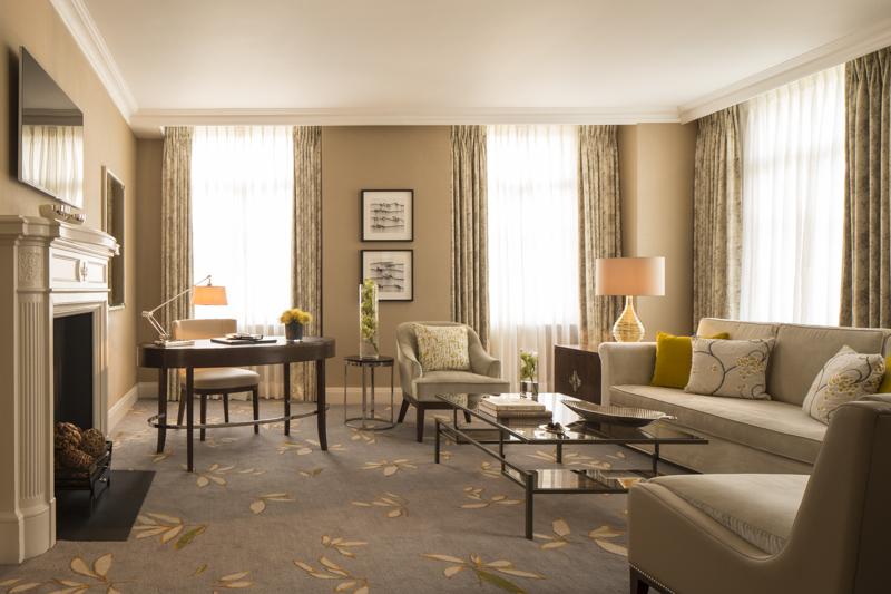 Salon dans suite au Grosvenor Hôtel - Londres - UK