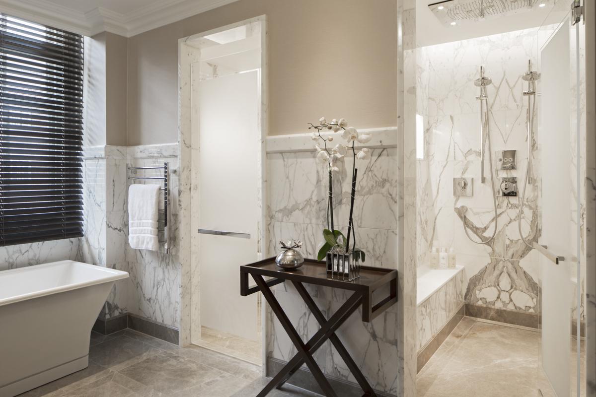 Douche au Grosvenor Hôtel -Londres - UK