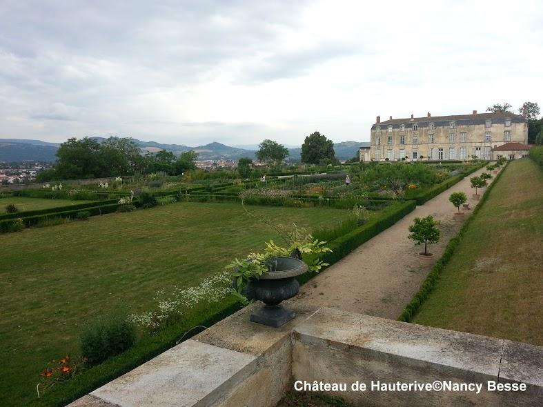 Les jardins - château de Hauterive