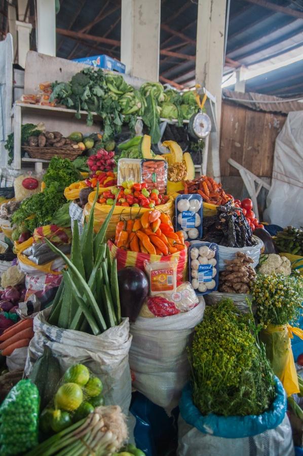 Sur le marché à Cuzco