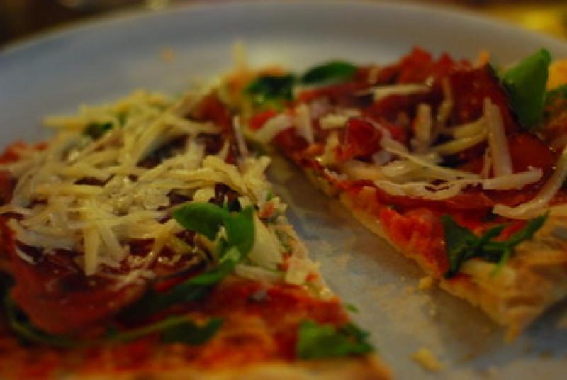 Pizza obligatoire à Venise