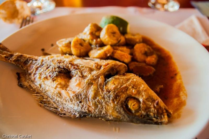 Poisson au menu au club Marmara à Saly au Sénégal
