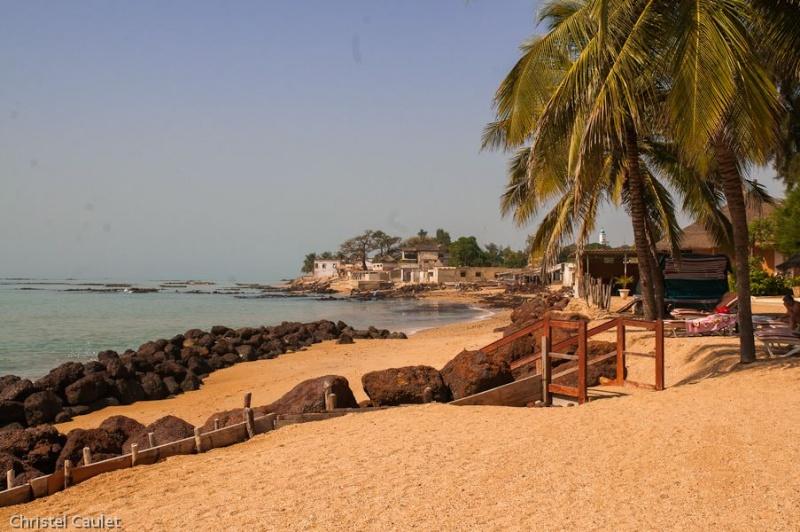 La plage à Saly au Sénégal