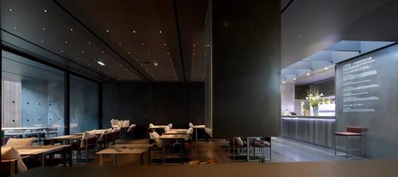 La salle du Café Bras à Rodez