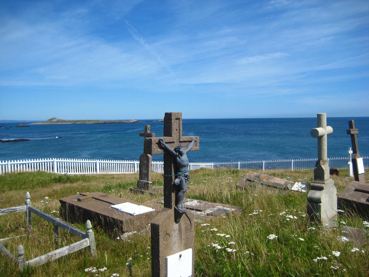 cimetière - Tour du monde - St Pierre et Miquelon