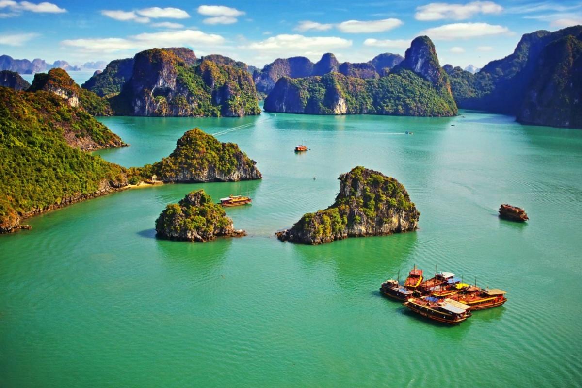 La Thaïlande - croisière aérienne