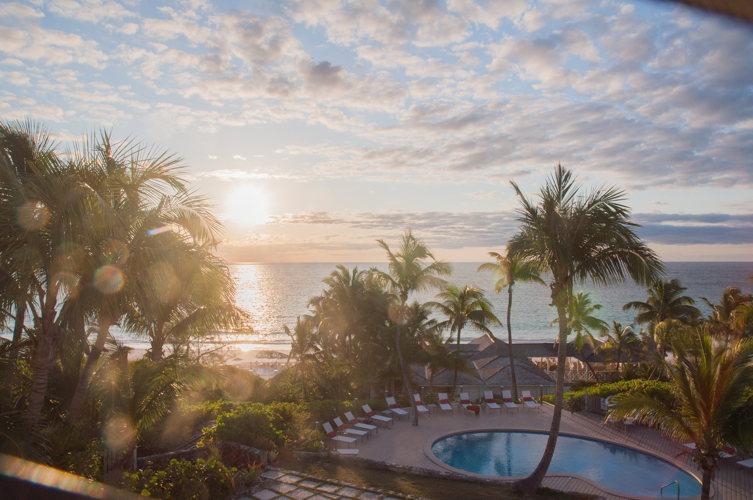 Coucher de soleil - Coral Sands Hotel - Bahamas