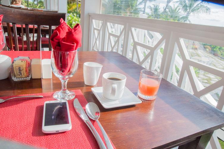 Petit déjeuner - Coral Sands Hotel - Bahamas