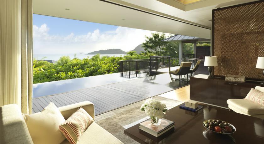 voyage aux Seychelles - chambre - l'Hôtel Raffles