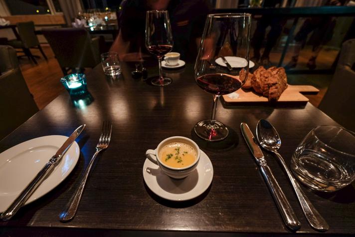 Une soupe - L'Ion hôtel - Islande