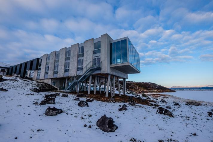 Extérieurs - L'Ion hôtel - Islande