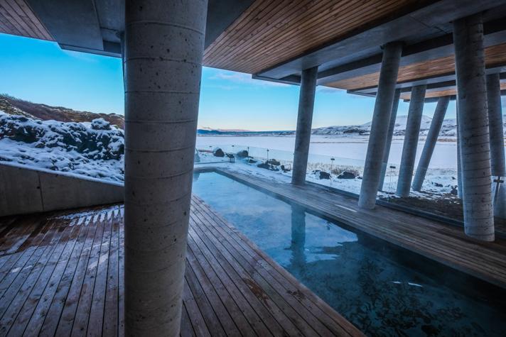 Piscine - l'Ion hôtel - Islande
