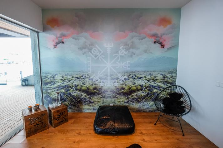 Décoration - salon - l'Ion hôtel - Islande